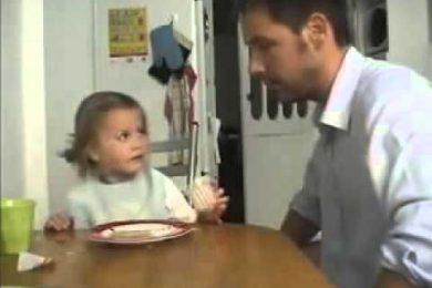 Cucù, il dolce non c'è più. E lo scherzo di un papà alla sua bambina diventa virale. Da morire dal ridere