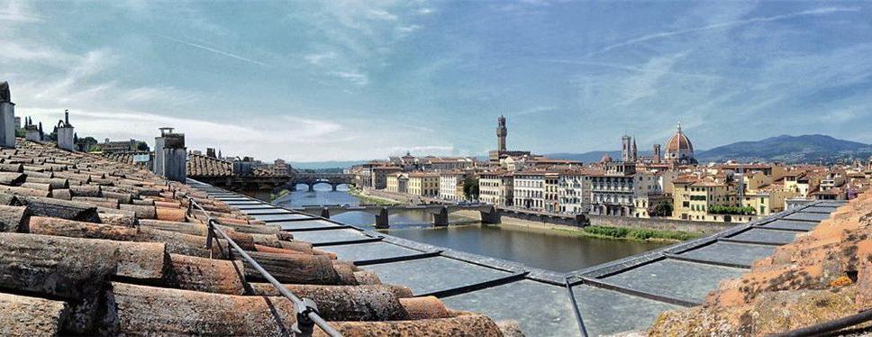 vista dai tetti di Firenze