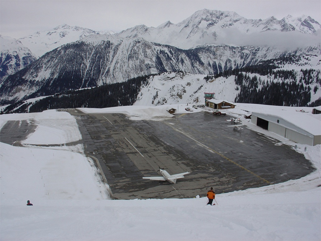 Courchevel-Altiport-France