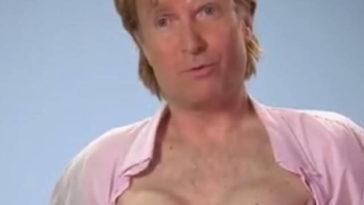uomo tiene seno finto per 20 anni