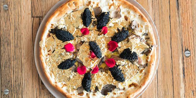 Pizza da 2.000 dollari: ingredienti speciali